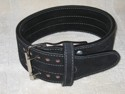 Athlete Suede Powerlifting Belt