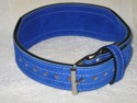 Tapered Suede Powerlifting Belt